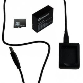 Battery, Charger with MicroSD 64G for XPRO3