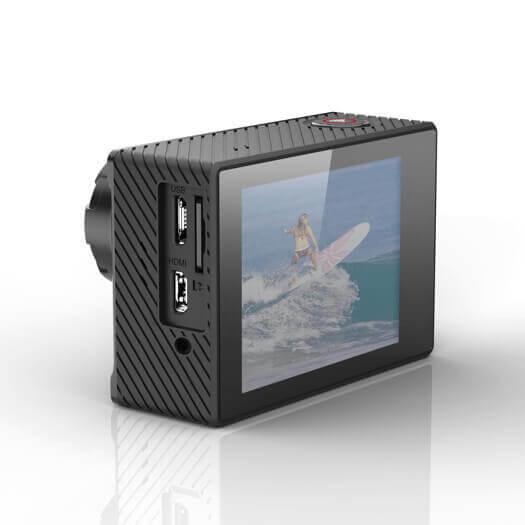 TecTecTec XPRO4+ action camera Side View