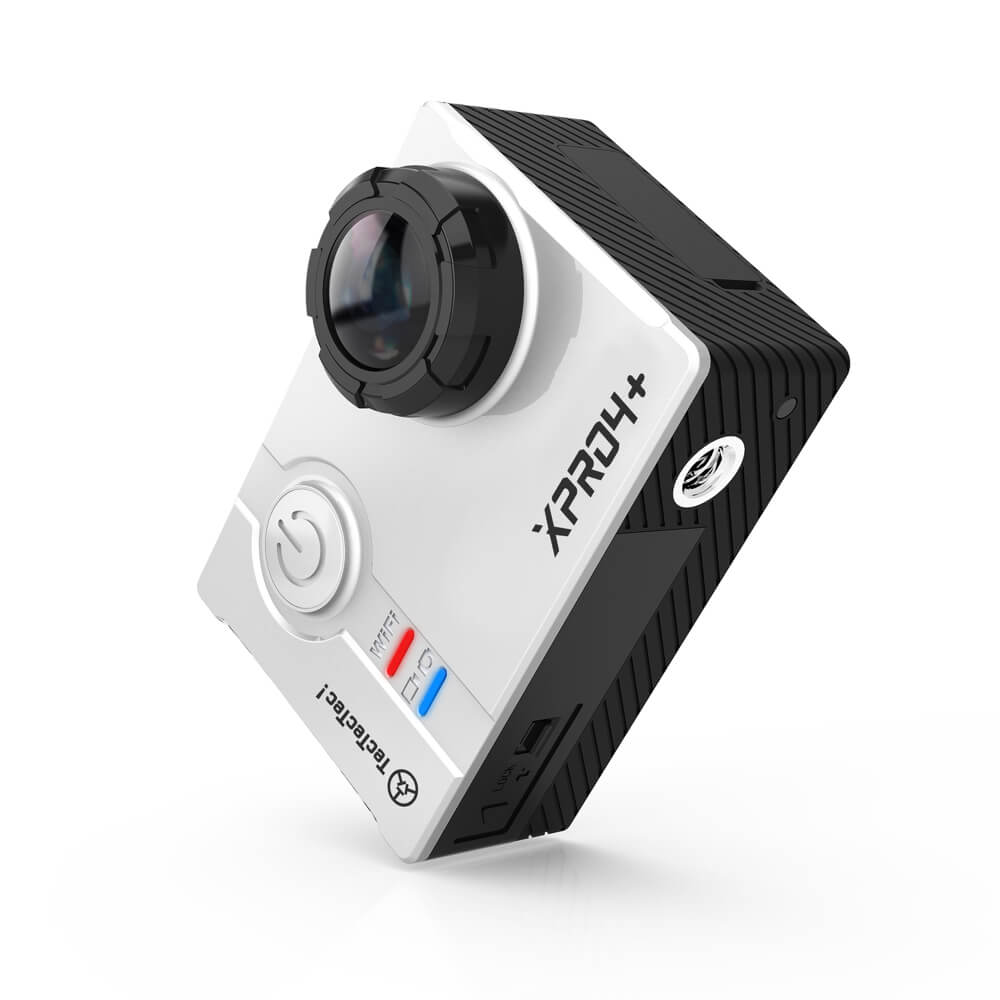 TecTecTec XPRO4+ Action Camera Silver