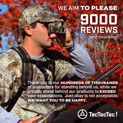 TecTecTec happy customer supporters exceed your expectations hunting precision laser rangefinder