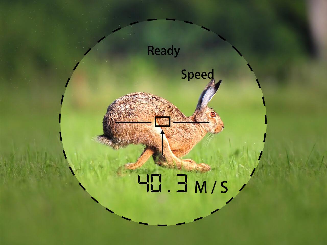 TecTecTec Hunting Rangefinder Prowild Speed mode