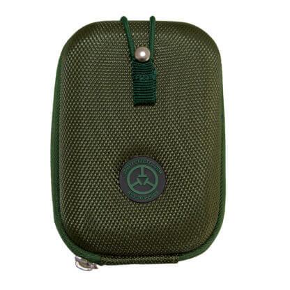 TecTecTec Premium case pouch army green dark green for hunting laser rangefinder